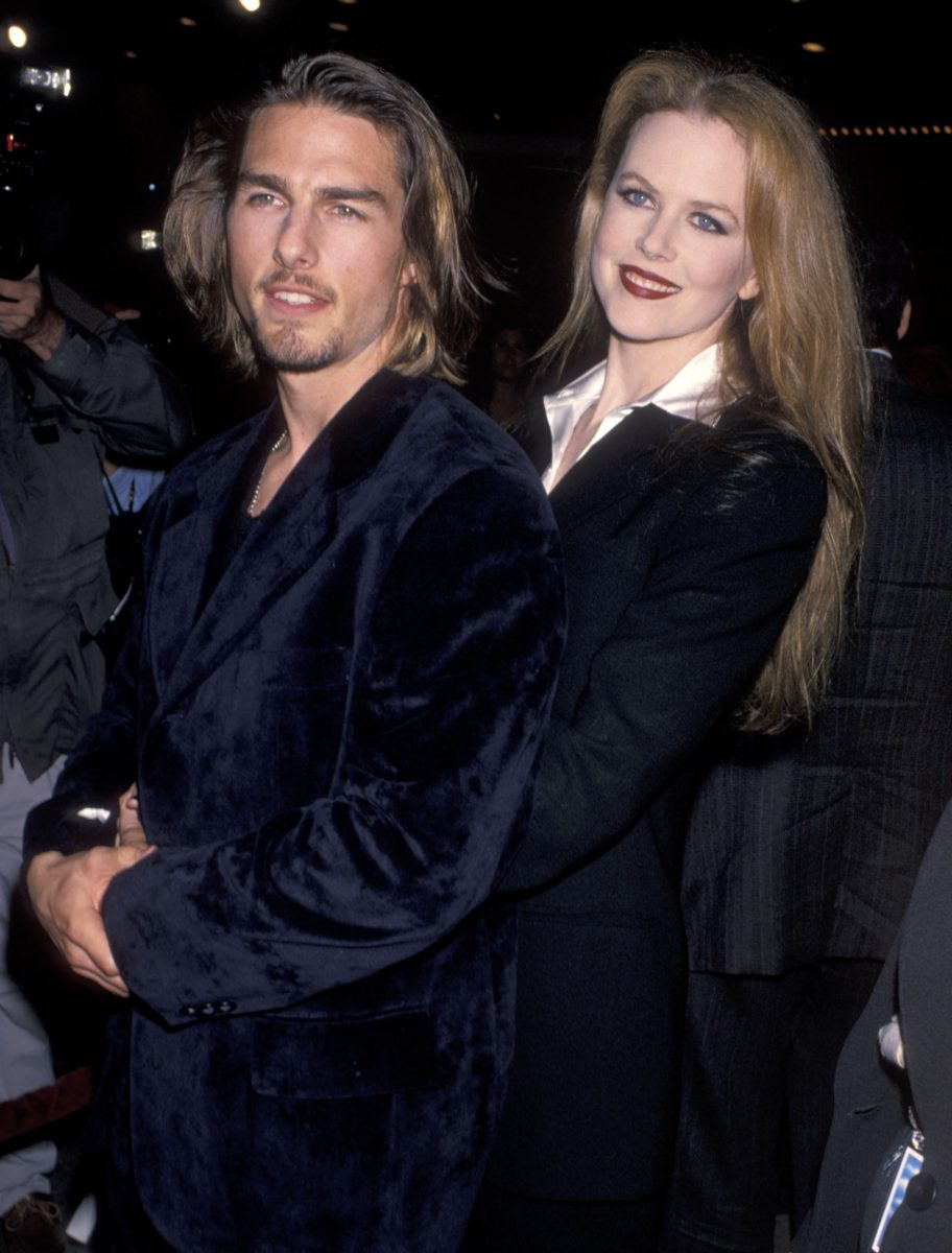 Tom Cruise and actress Nicole Kidman attend the 'Interview with the Vampire: The Vampire Chronicles' Westwood Premiere