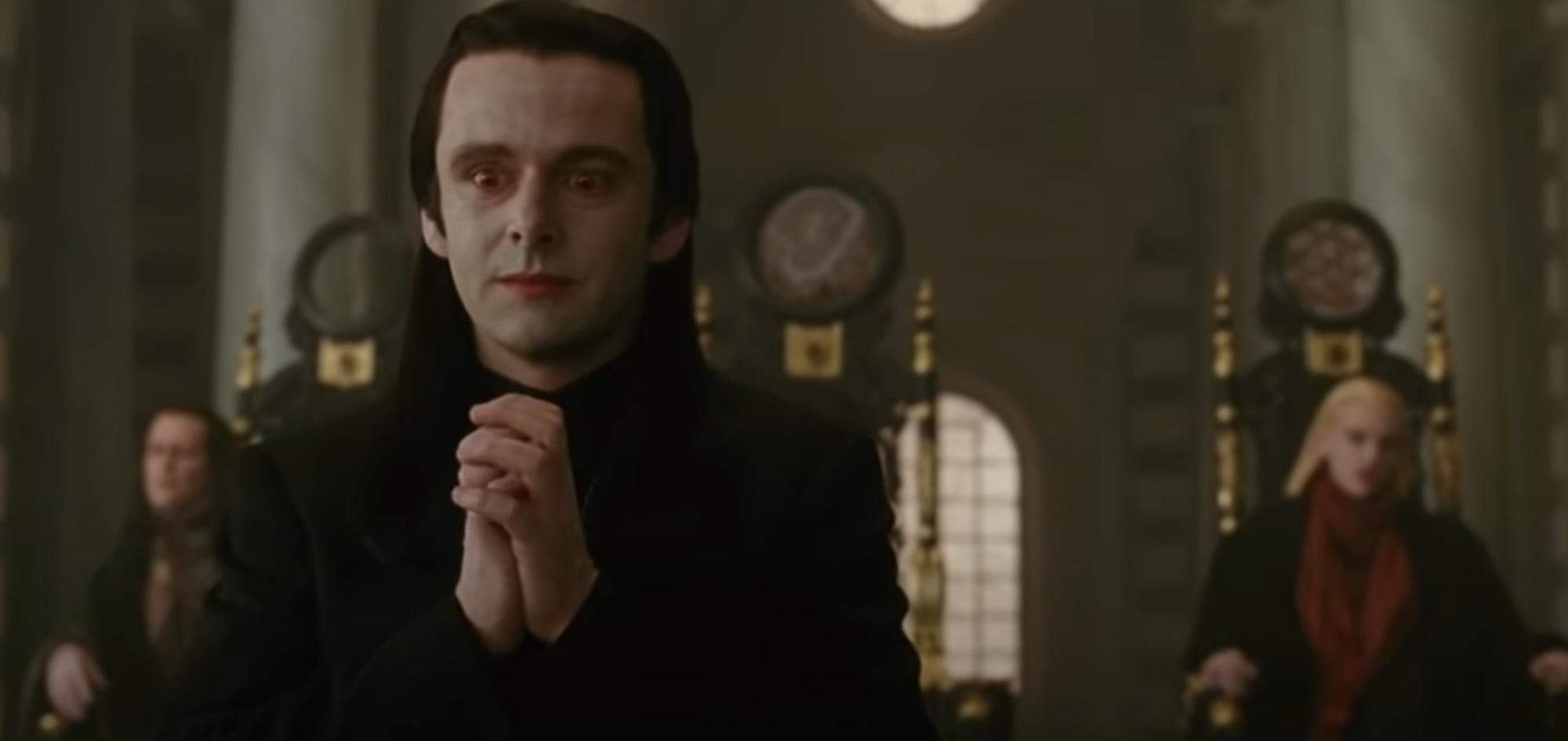 Marcus, Aro, and Caius of the Volturi in 'The Twilight Saga: New Moon'