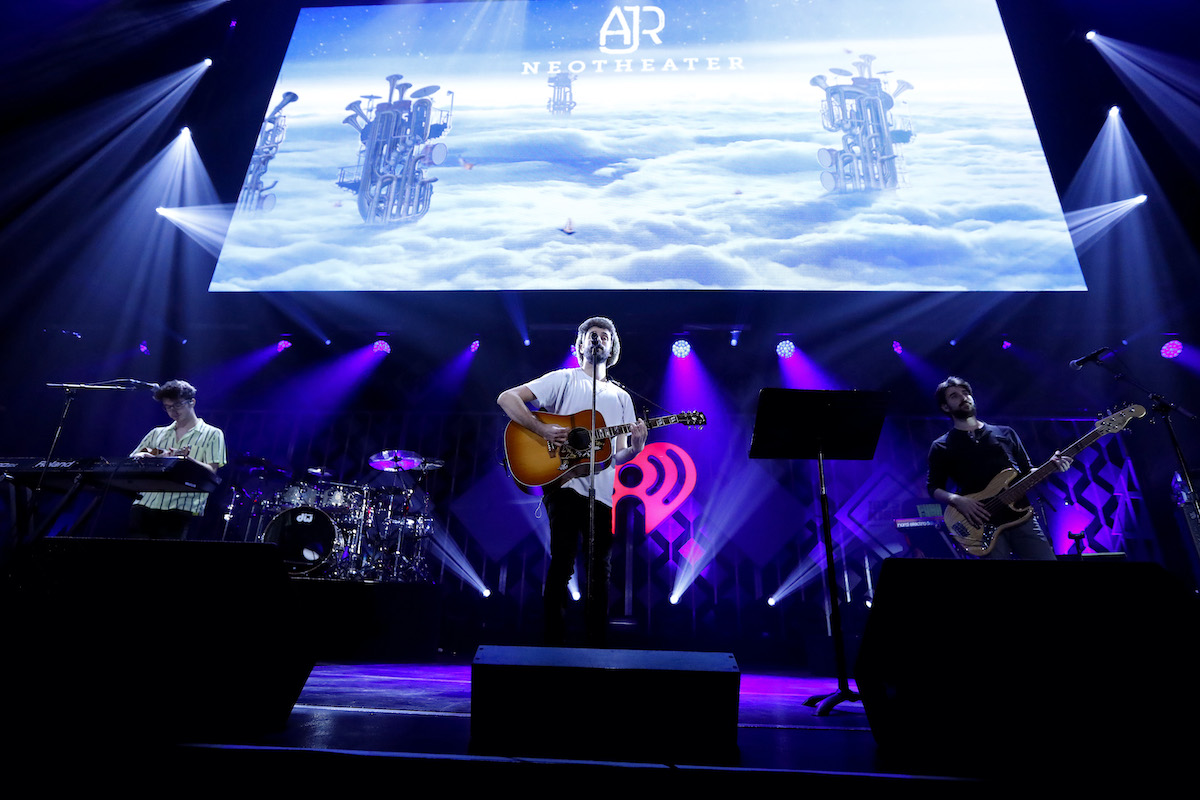 AJR performs during 103.5 KISS FM's Jingle Ball 2019