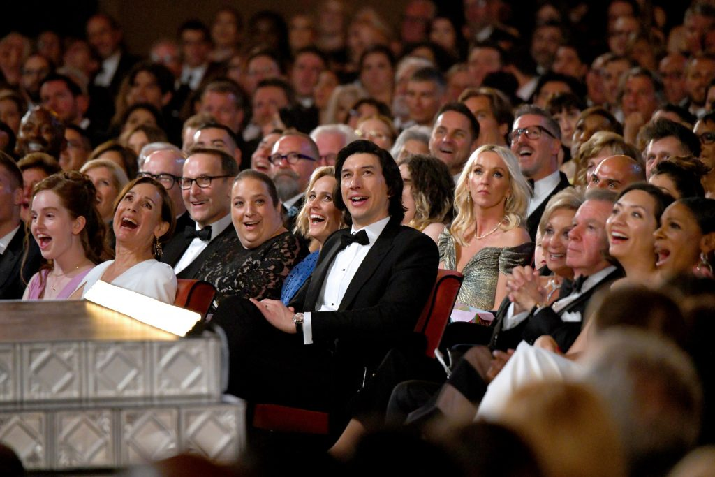 Adam Driver attends the 73rd Annual Tony Awards at Radio City Music Hall