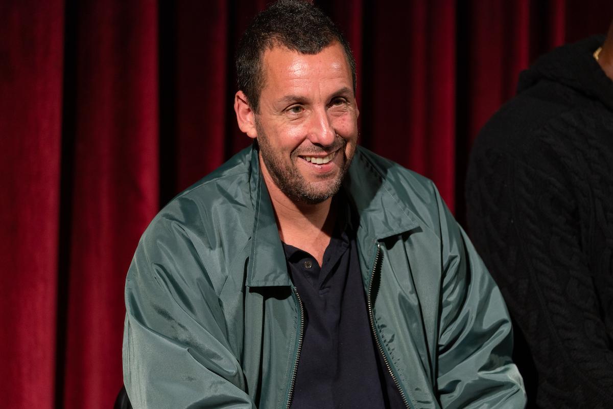 Adam Sandler at an 'Uncut Gems' screening