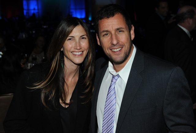 Adam Sandler's Wife Jackie Gave Him Hilarious Advice for Kissing Other Women