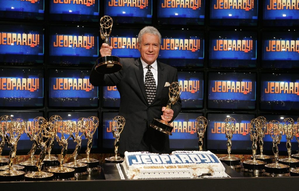 Alex Trebek from 'Jeopardy!'