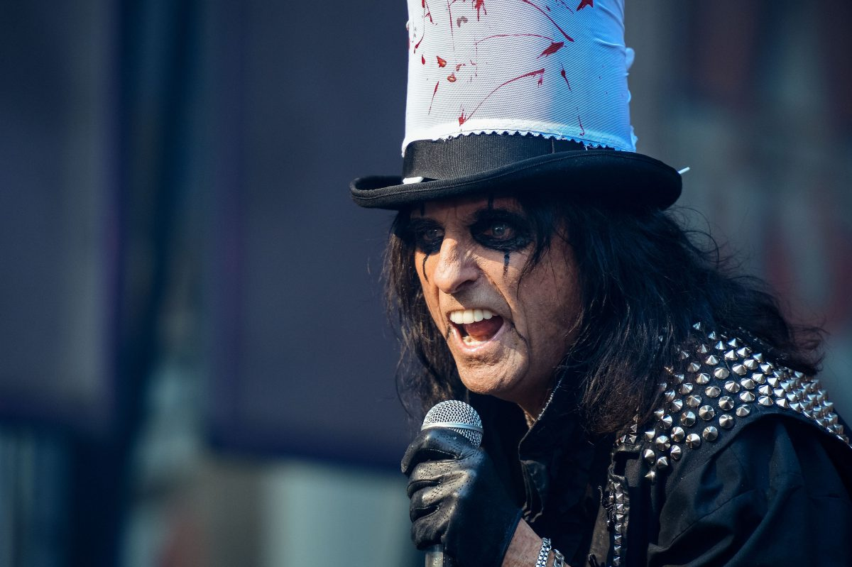 Alice Cooper performs during the 'Fox and Friends' All-American Concert series