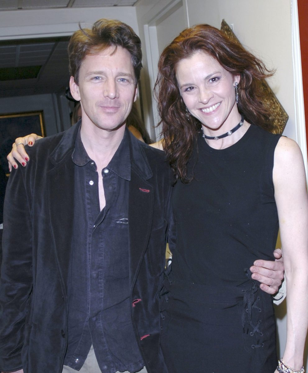Andrew McCarthy and Ally Sheedy reunited