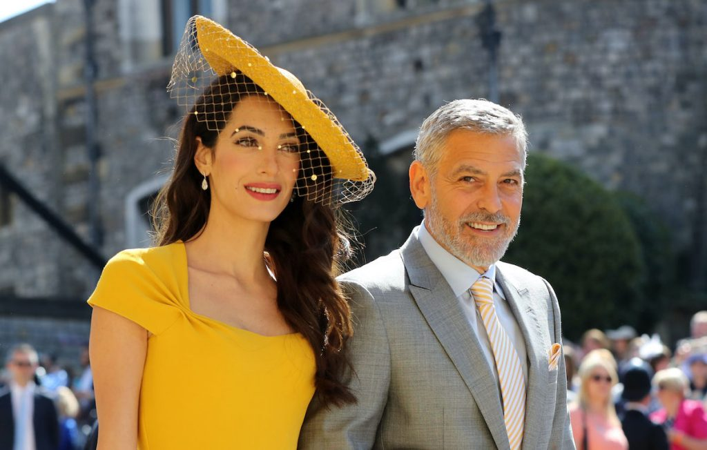Amal Clooney and US actor George Clooney