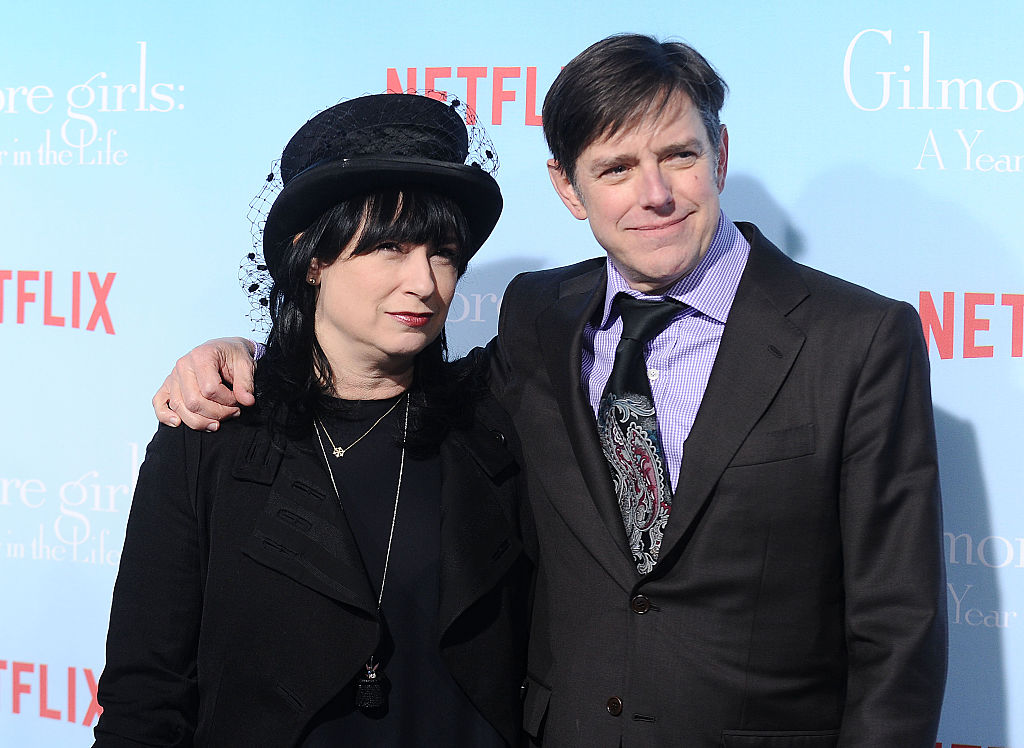 Gilmore Girls creators Amy Sherman-Palladino and Daniel Palladino