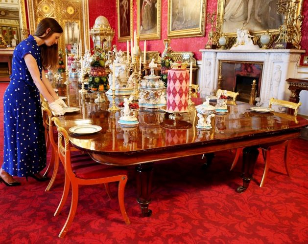 Royal Family Staffers Must Follow Specific Food Map When Setting the Table