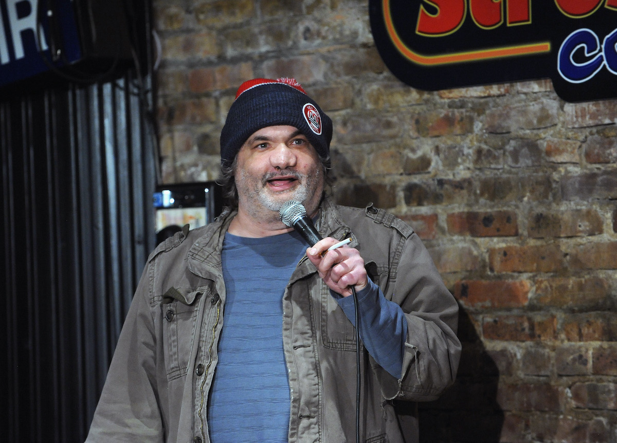 Artie Lange performs at The Stress Factory Comedy Club on November 21, 2018