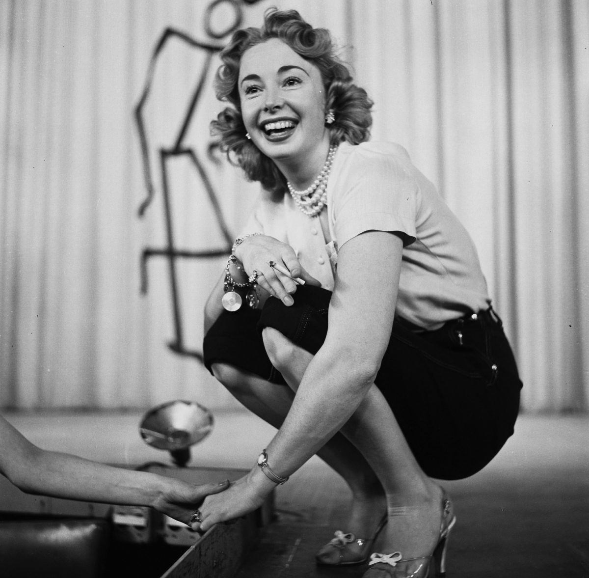 Audrey Meadows appears in 'The Jackie Gleason Show' in the 1950s