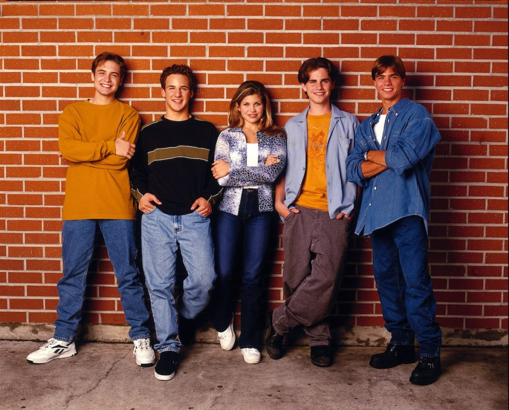 WILL FRIEDLE, BEN SAVAGE, DANIELLE FISHEL, RIDER STRONG, and MATTHEW LAWRENCE