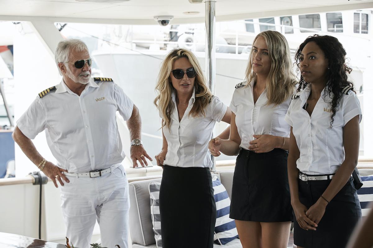 Captain Lee Rosbach, Kate Chastain, Courtney Skippon, Simone Mashile