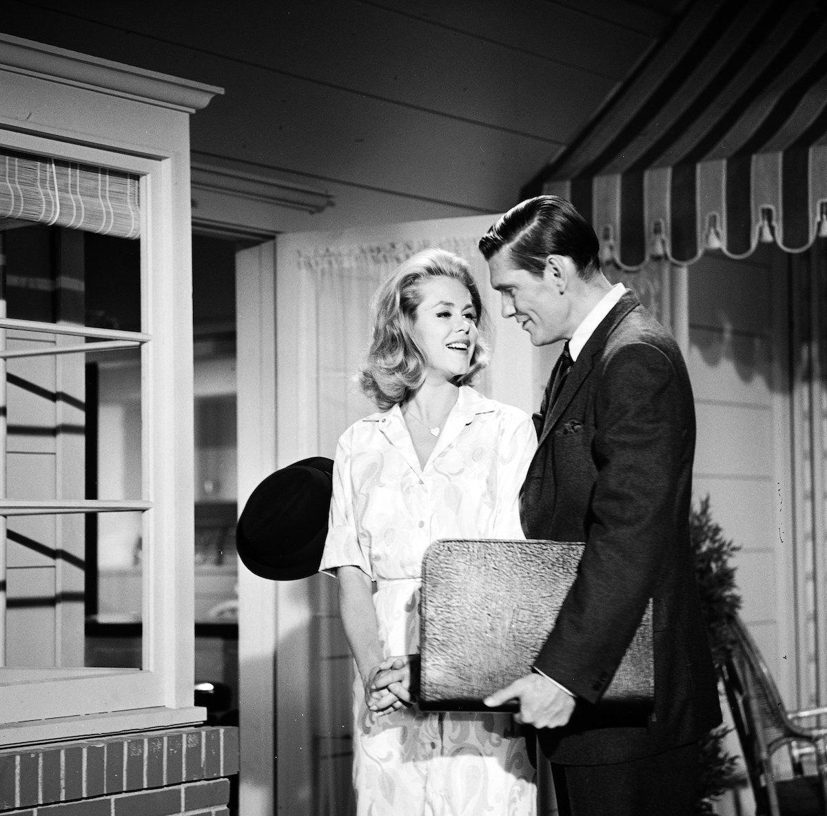 Elizabeth Montgomery and Dick York