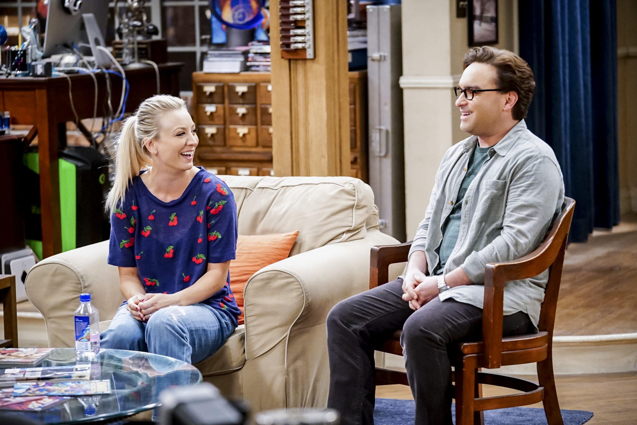 Big Bang Theory: Kaley Cuoco and Johnny Galecki