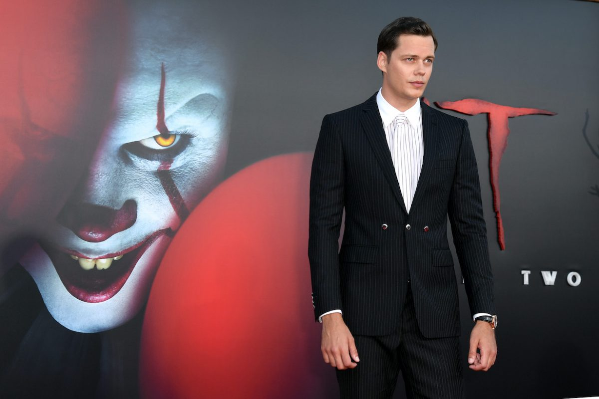 Bill Skarsgård attends the Premiere of Warner Bros. Pictures' 'It Chapter Two'