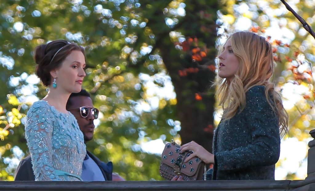 Leighton Meester and Blake Lively of 'Gossip Girl'