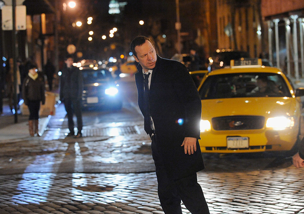Donnie Wahlberg as Danny Reagan on 'Blue Bloods' turned to the side