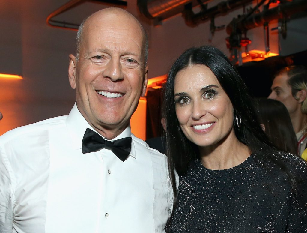 Bruce Willis and Demi Moore at the Comedy Central Roast of Bruce Willis in 2018 | Phil Faraone/VMN18/Getty Images For Comedy Central