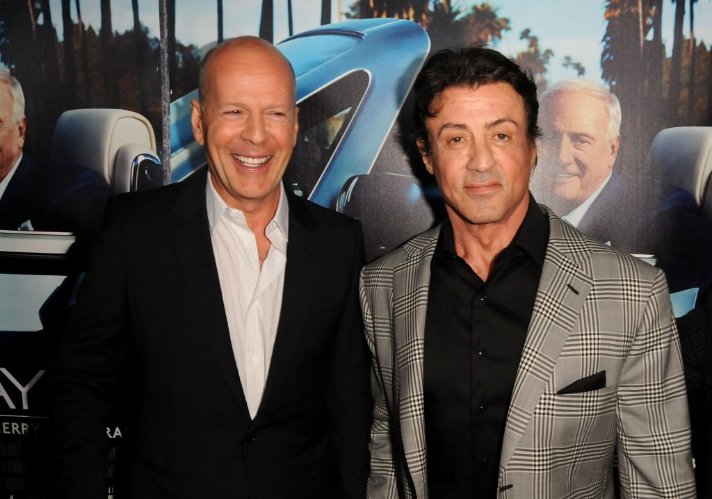 Bruce Willis and Sylvester Stallone