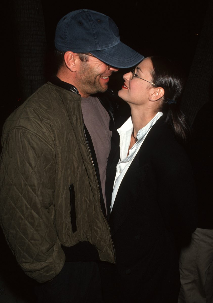 """Bruce Willis and Demi Moore during """"Indecent Proposal"""" Los Angeles VIP Screening"""