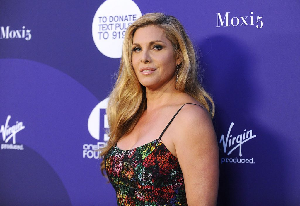 Candis Cayne attends a benefit for onePULSE Foundation at NeueHouse Hollywood.