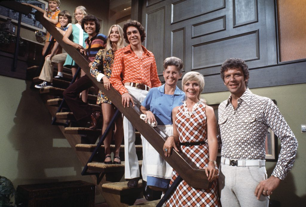 Cast of 'The Brady Bunch'   Robert Reed, Florence Henderson, Barry Williams, Maureen McCormick, Christopher Knight, Eve Plumb, Mike Lookinland, Susan Olsen