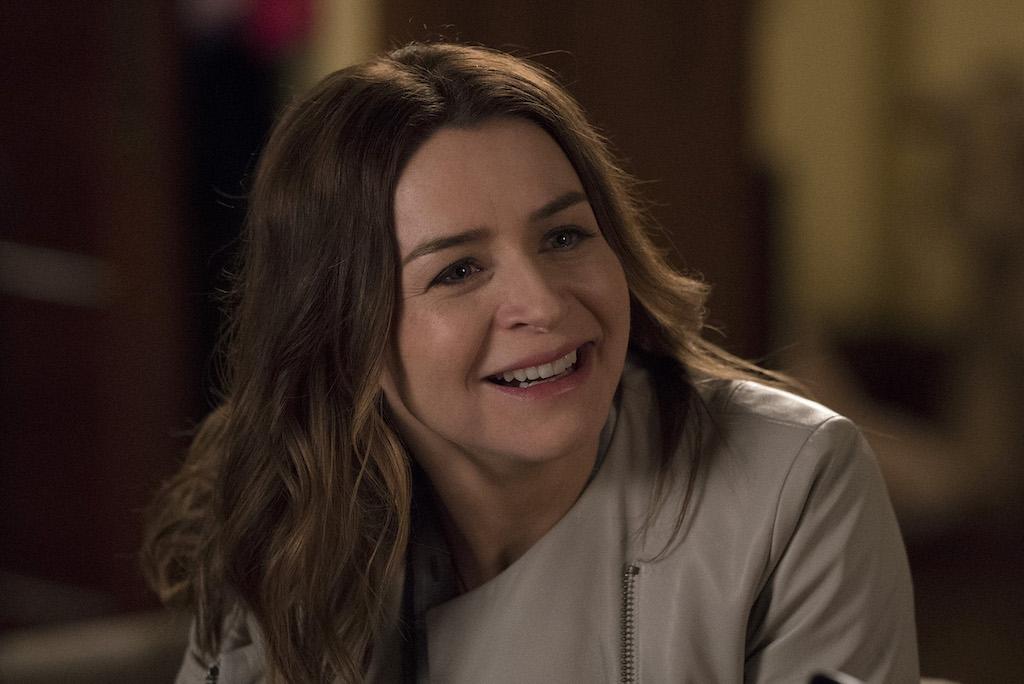 Caterina Scorsone as Amelia Shepard smiling