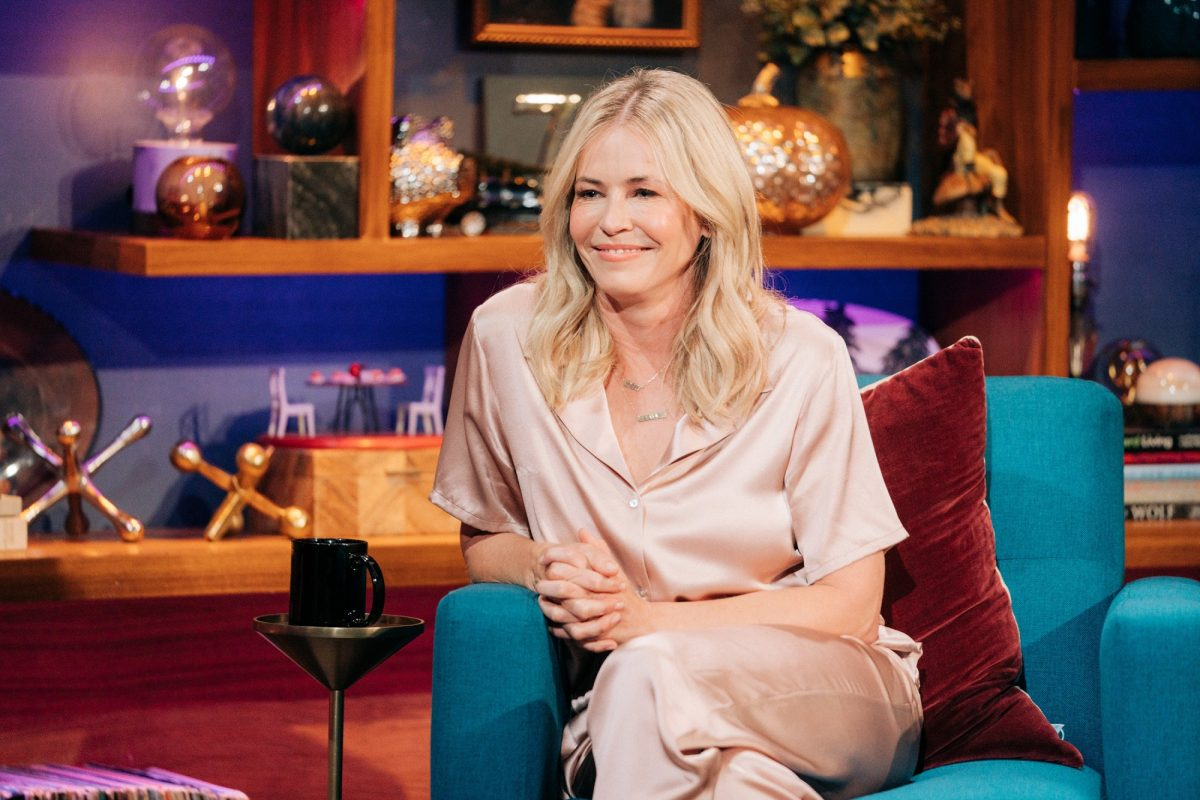 Chelsea Handler on Late Late Show
