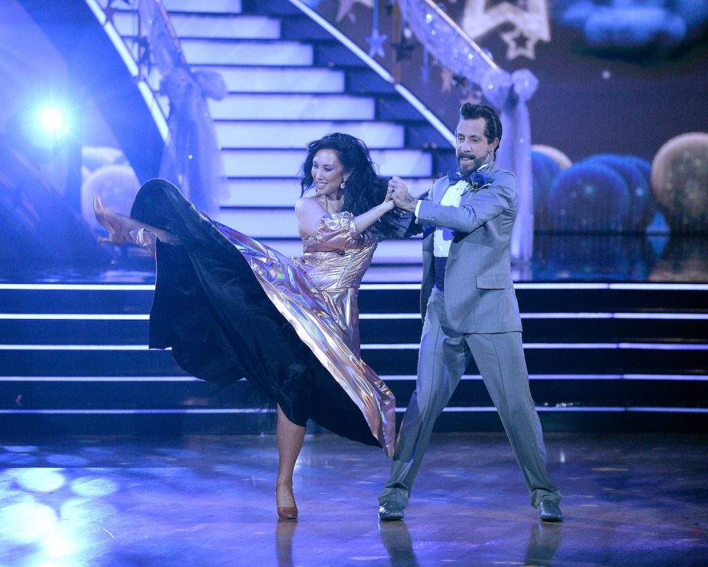 Cheryl Burke and A.J. McLean on season 29 of 'DWTS'