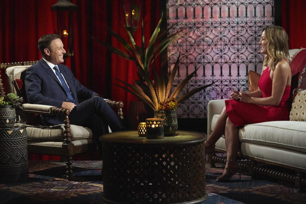 Chris Harrison and Clare Crawley on 'The Bachelorette'