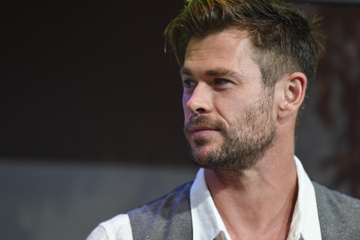 Chris Hemsworth at the Sydney Opera House