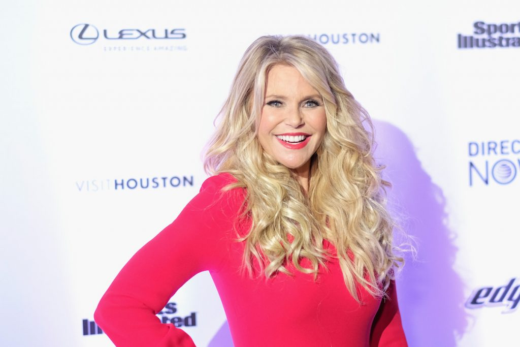 Christie Brinkley attends Sports Illustrated Swimsuit 2017 NYC launch event
