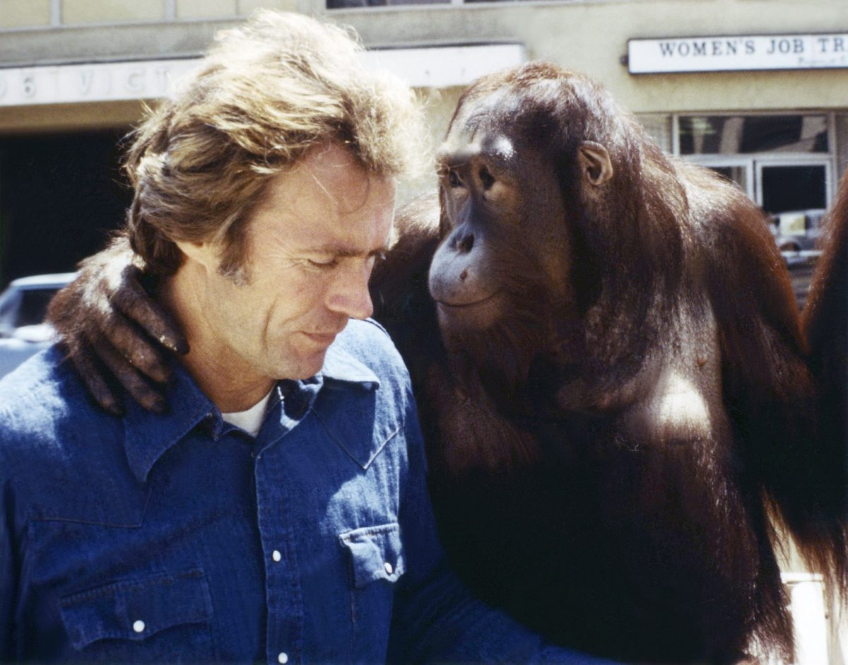 Clint Eastwood and Clyde