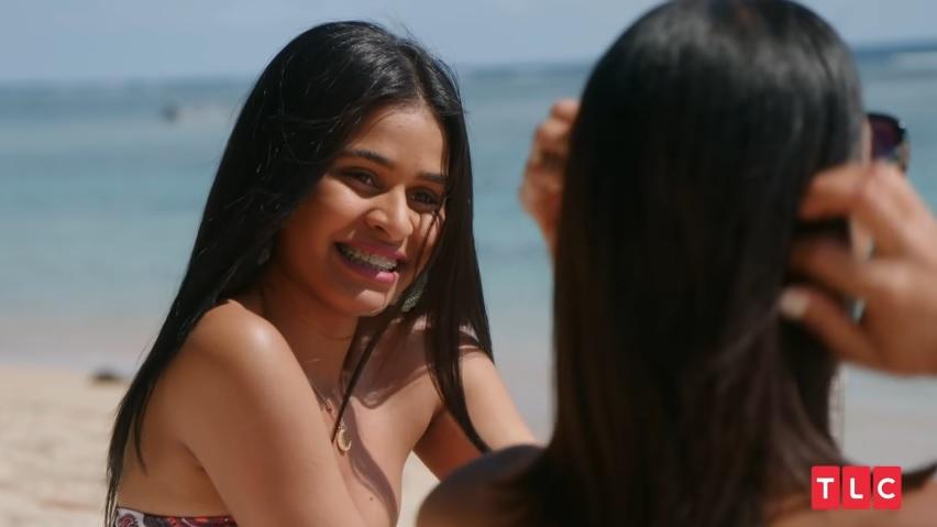 Coraima talking to Nicole on 'The Family Chantel'