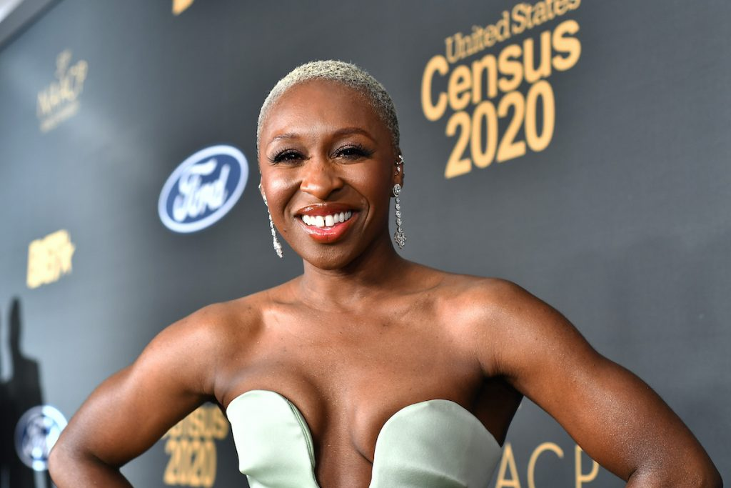 Cynthia Erivo attends the 51st NAACP Image Awards, Presented by BET, at Pasadena Civic Auditorium on February 22, 2020   Paras Griffin/Getty Images for BET
