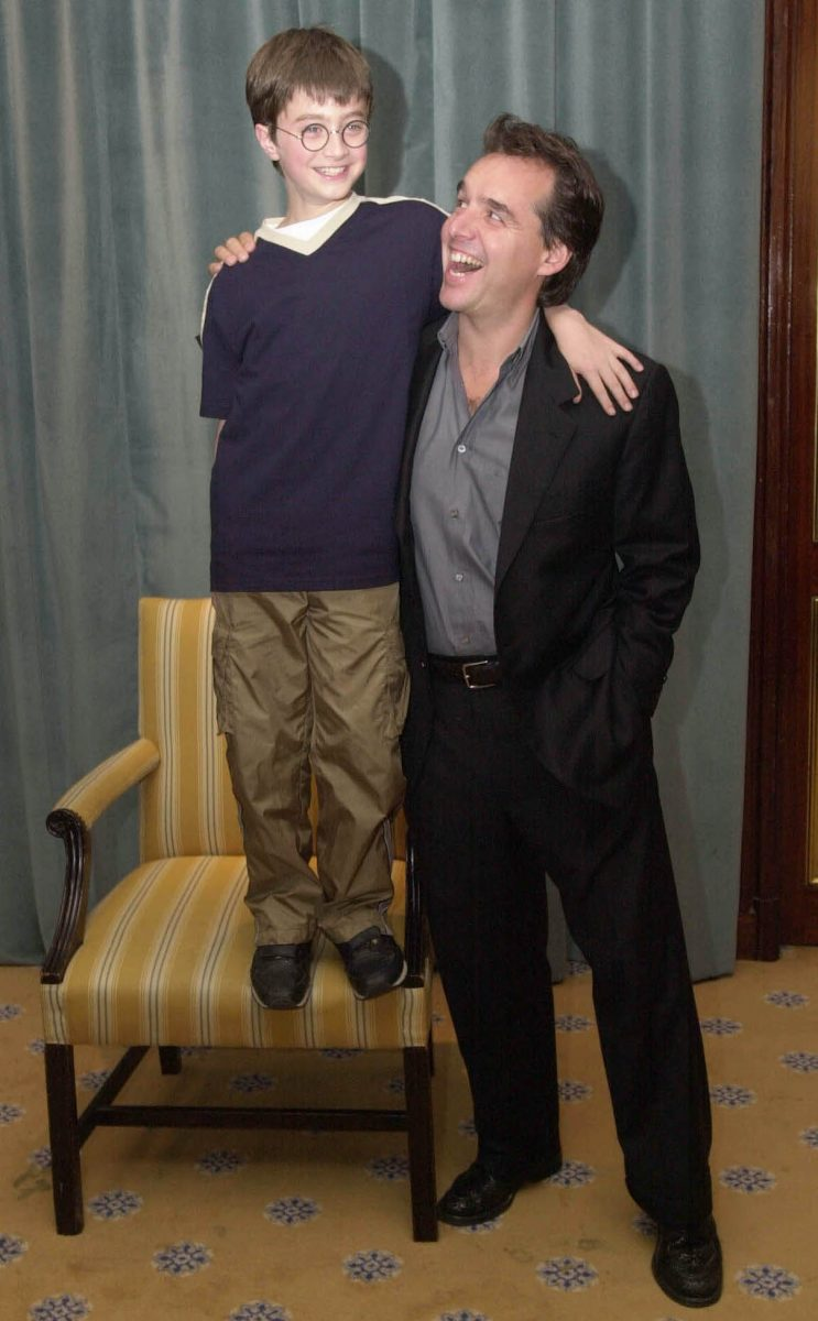 Daniel Radcliffe and Chris Columbus