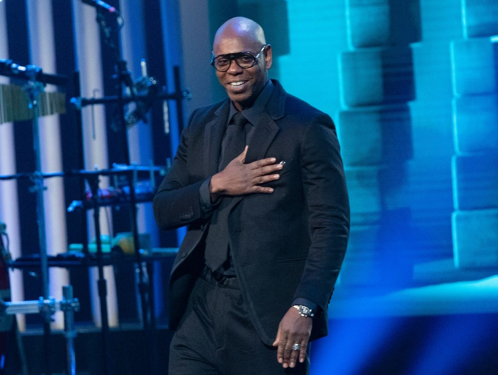 Dave Chappelle at an event