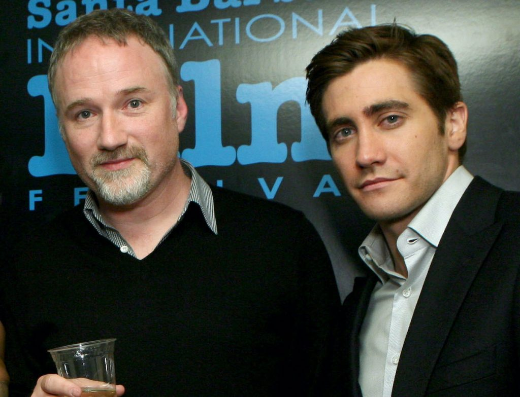David Fincher and Jake Gyllenhaal backstage during A Celebration of David Fincher during the Santa Barbara International Film Festival on January 30, 2009 | Rebecca Sapp/WireImage