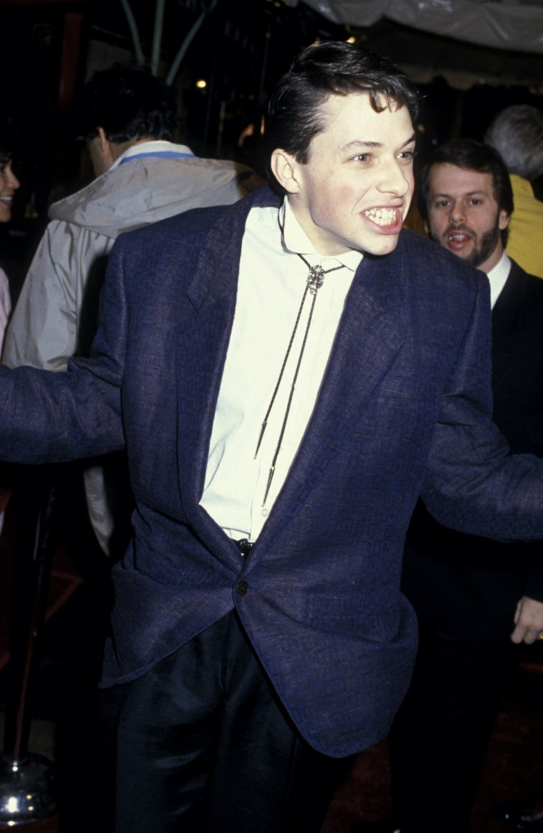 "Jon Cryer attends the premiere of ""Pretty In Pink"" on January 29, 1986 at Mann Chinese Theater"