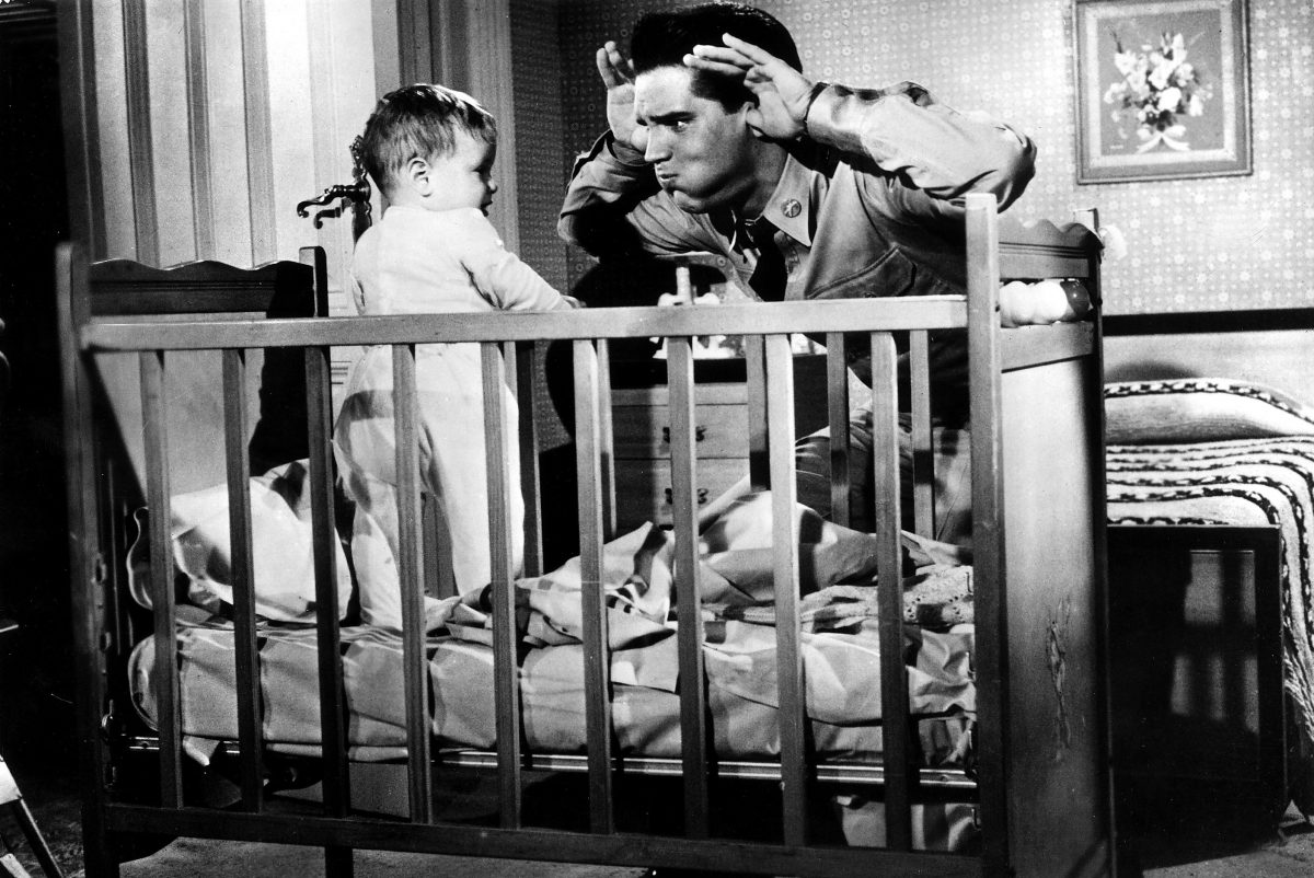 Elvis Presley and a Baby