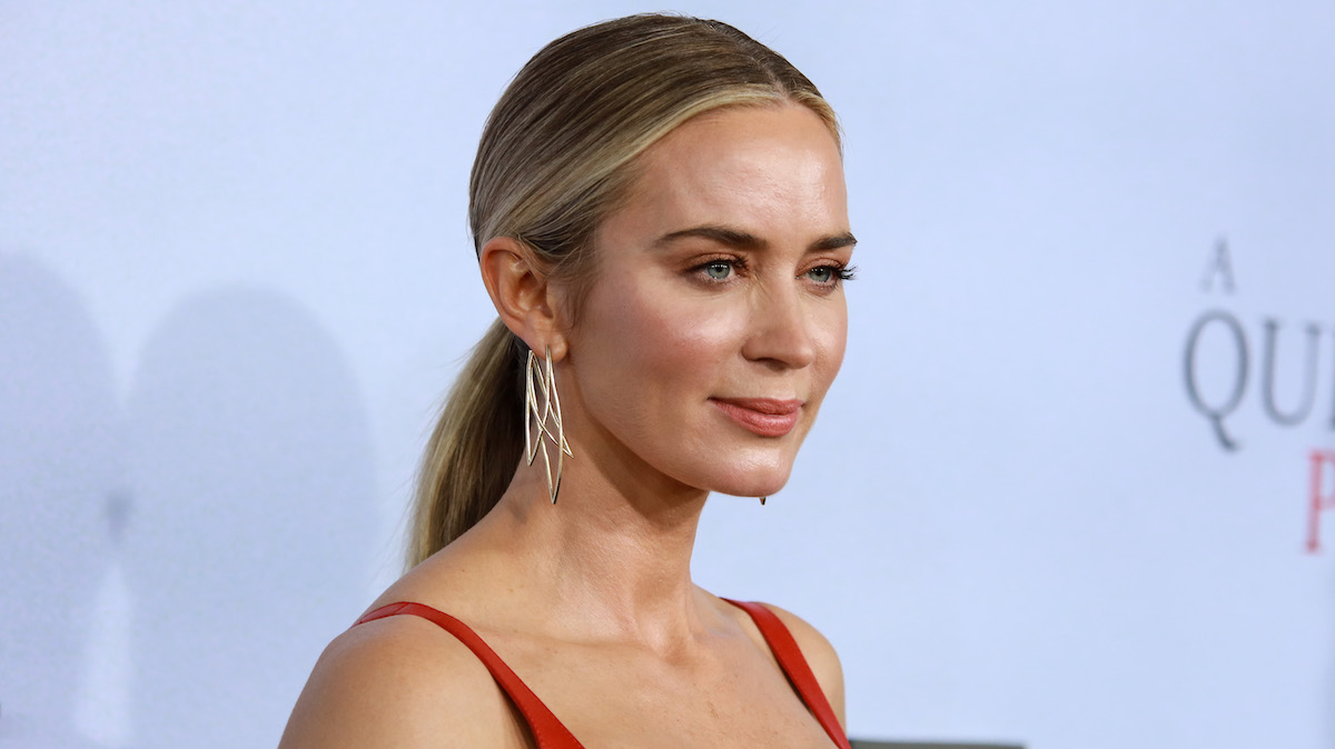 Emily Blunt at the 'A Quiet Place Part II' premiere