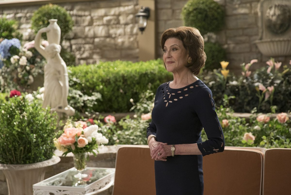 Kelly Bishop as Emily Gilmore in 'Gilmore Girls: A Year in the Life'