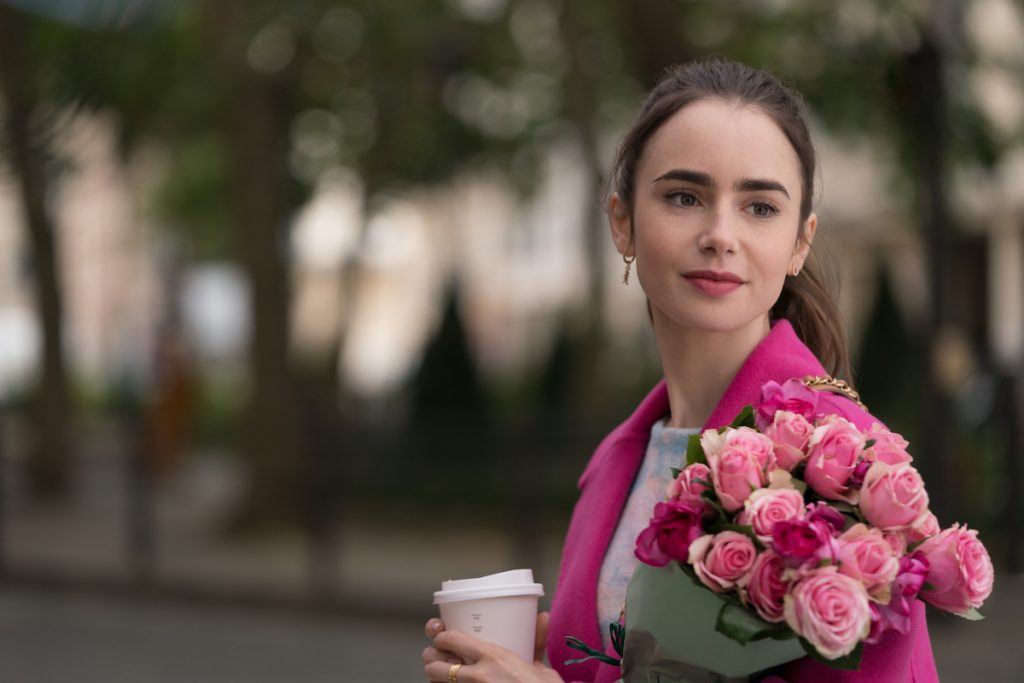 Emily in Paris Lily Collins as Emily