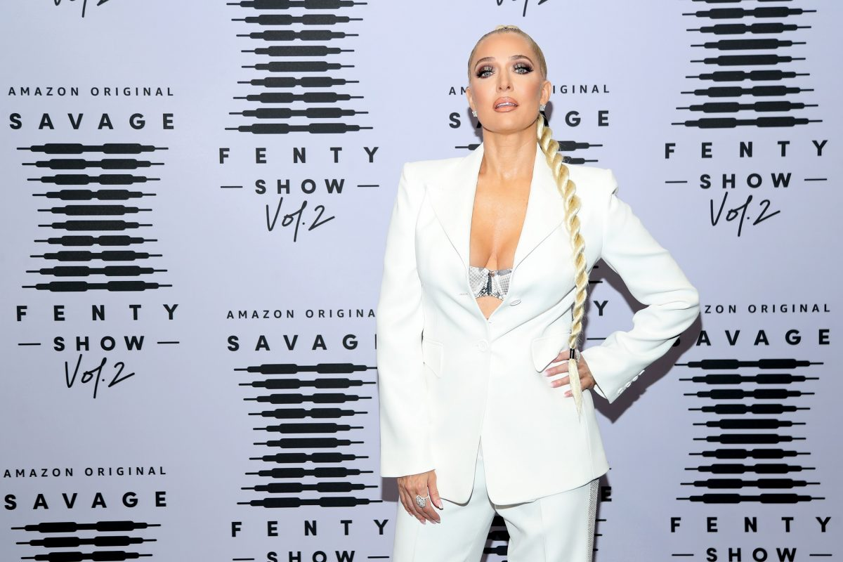 Erika Jayne attends Rihanna's Savage X Fenty Show Vol. 2 presented by Amazon Prime Video at the Los Angeles Convention Center