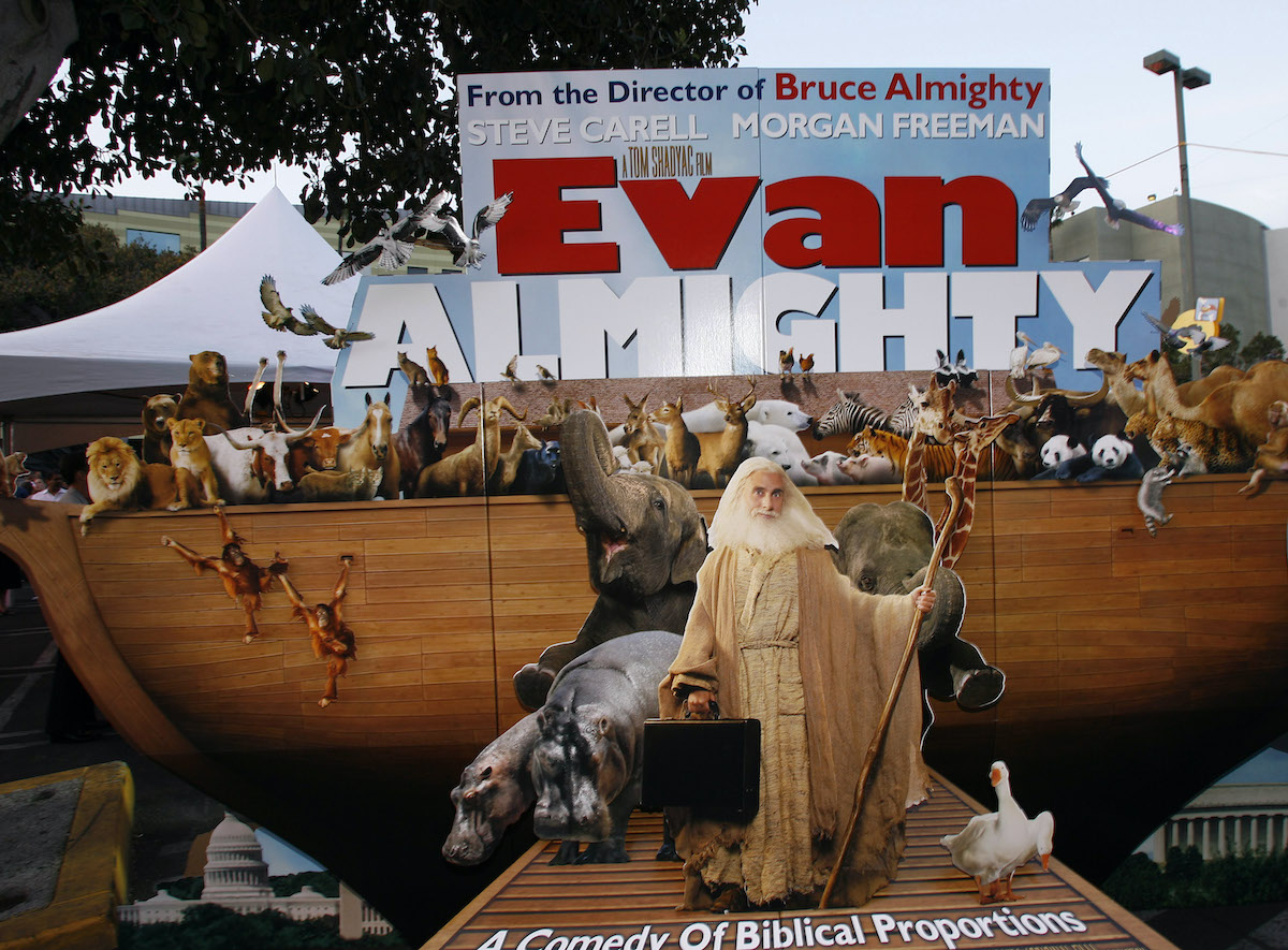 The 'Evan Almighty' premiere