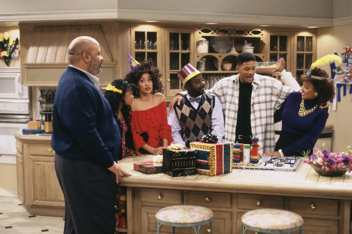 Fresh Prince of Bel-Air kitchen