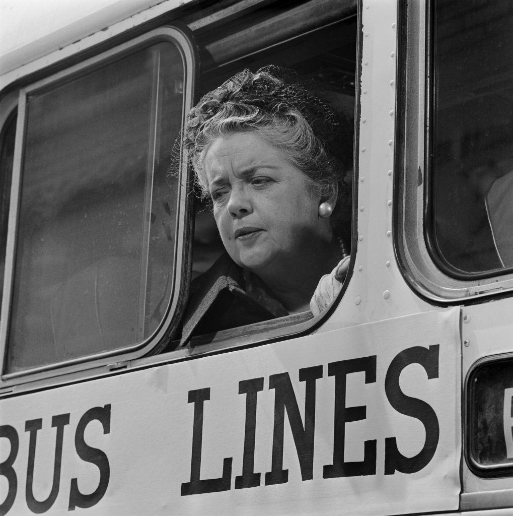 Frances Bavier as Aunt Bee on 'The Andy Griffith Show'