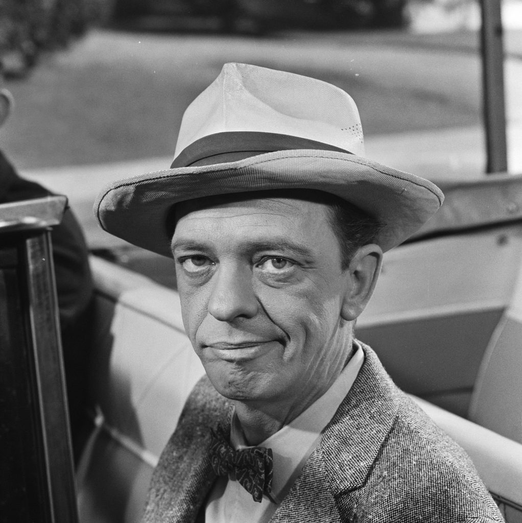 Don Knotts of 'The Andy Griffith Show'