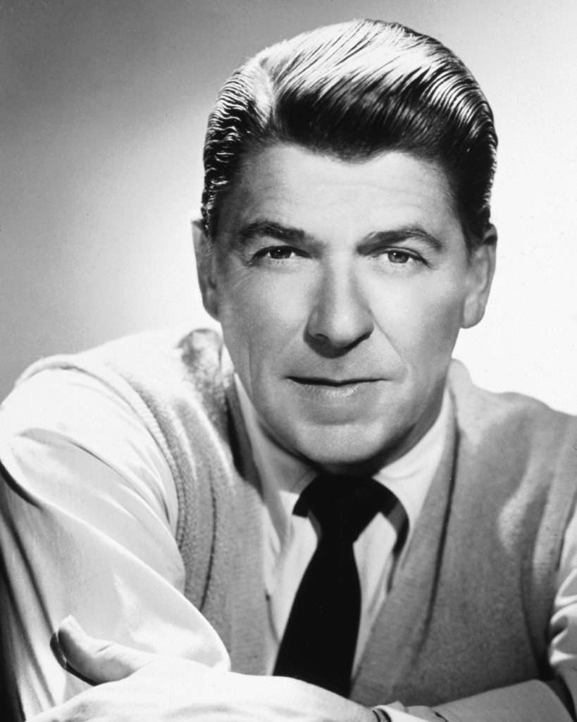 Actor Ronald Reagan who became 40th US President in 1981
