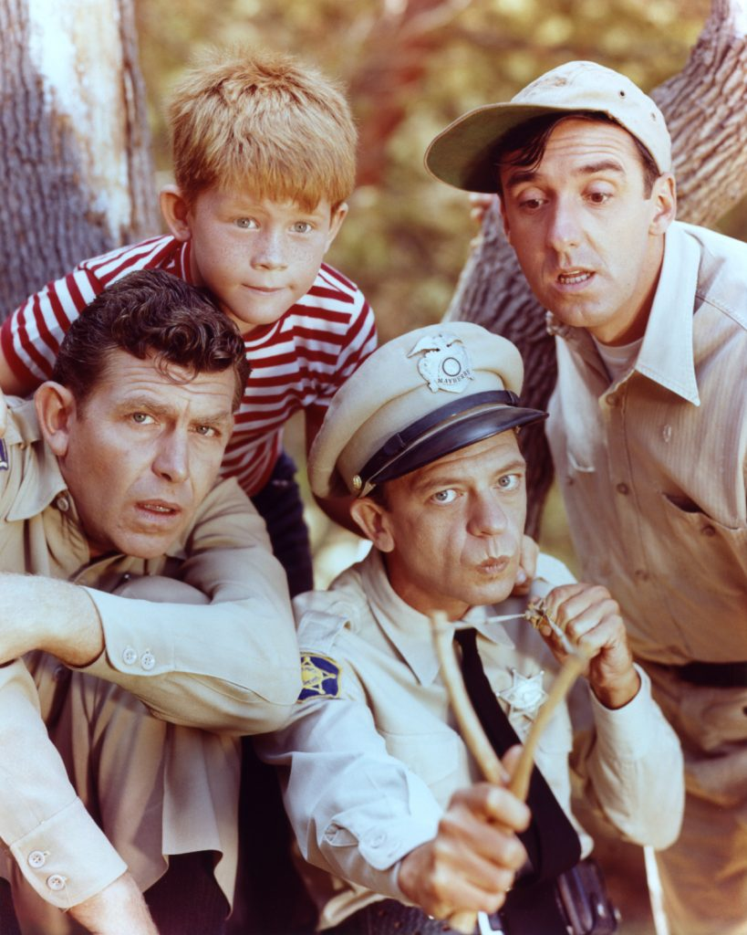 The cast of 'The Andy Griffith Show'